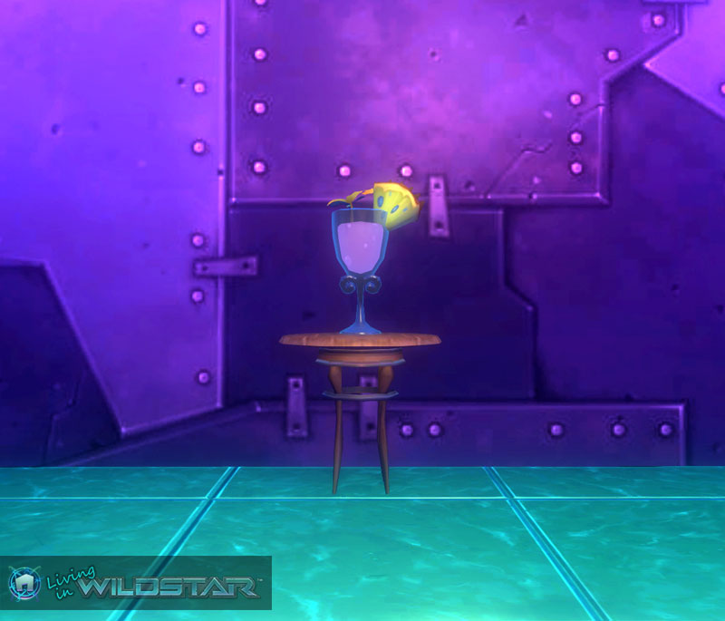 Wildstar Housing - Cool Cocktail
