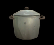 Wildstar Housing - Covered Silver Pot