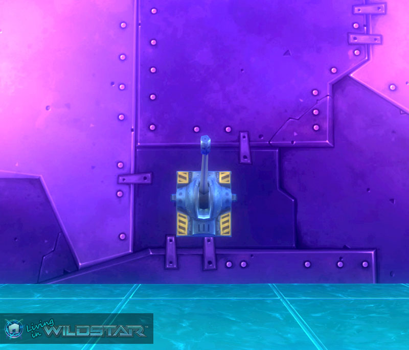 Wildstar Housing - Lever Switch