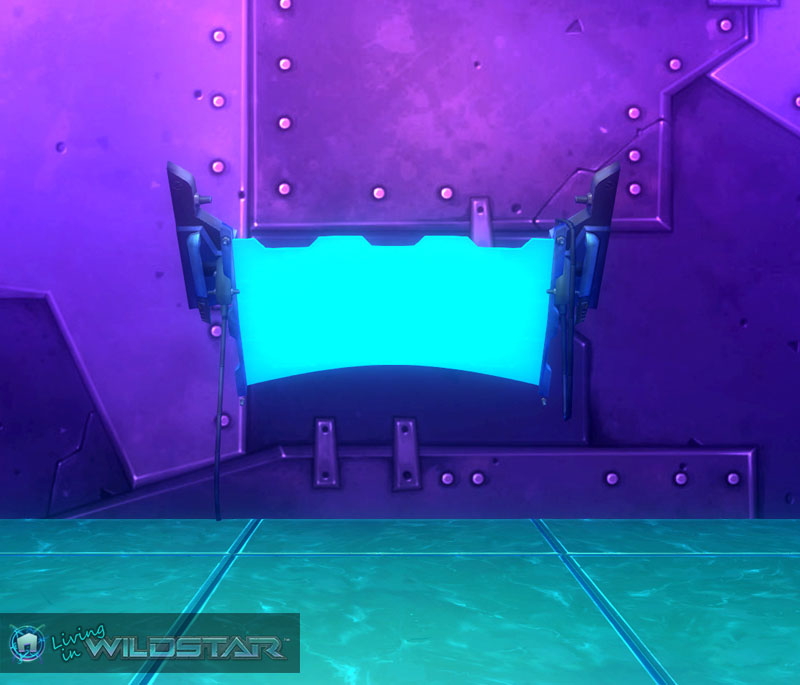 Wildstar Housing - Starship Bridge Monitor