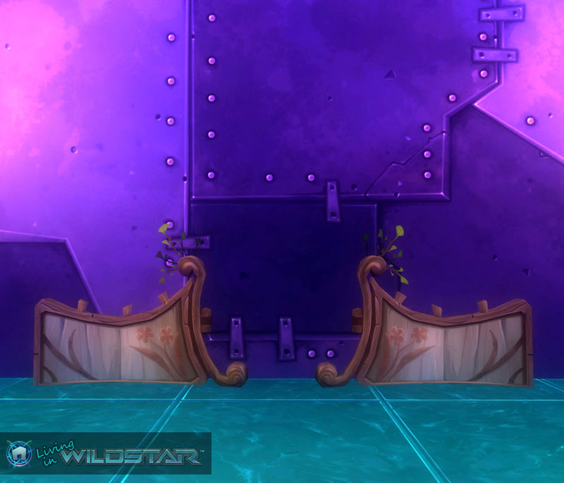 Wildstar Housing - Wooden Gate (Aurin)