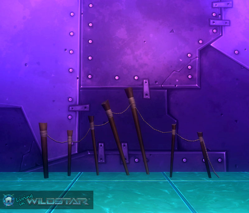 Wildstar Housing - Crude Fence
