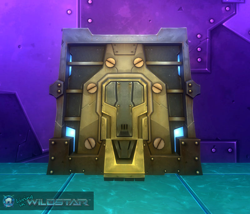 Wildstar Housing - Retaining Wall (Fortified)