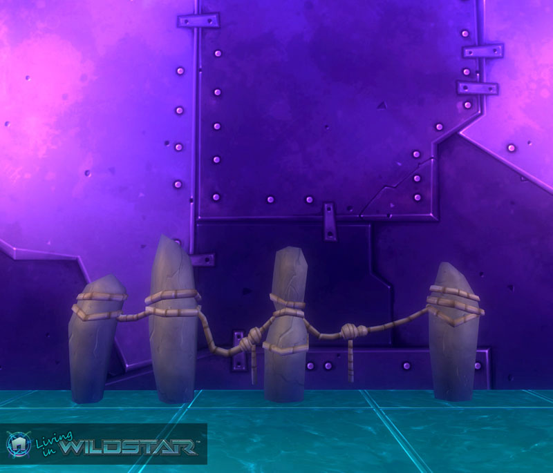 Wildstar Housing - Granok Fence (Long)