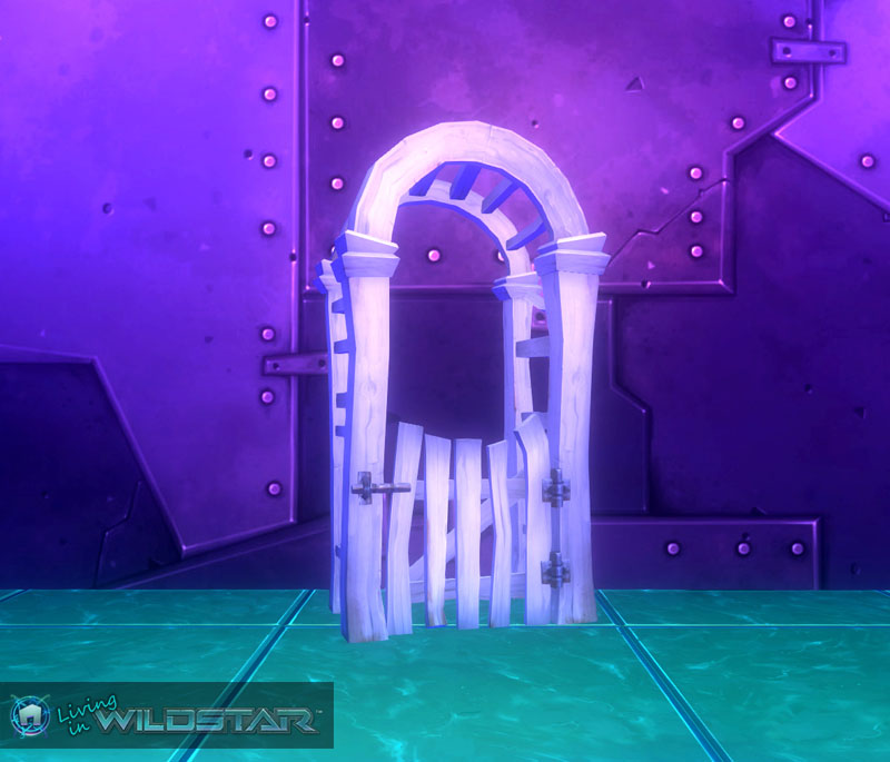 Wildstar Housing - Fence Arch (Picket)