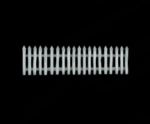 Wildstar Housing - White Picket Fence (Long)
