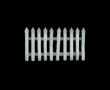 Wildstar Housing - White Picket Fence (Medium)