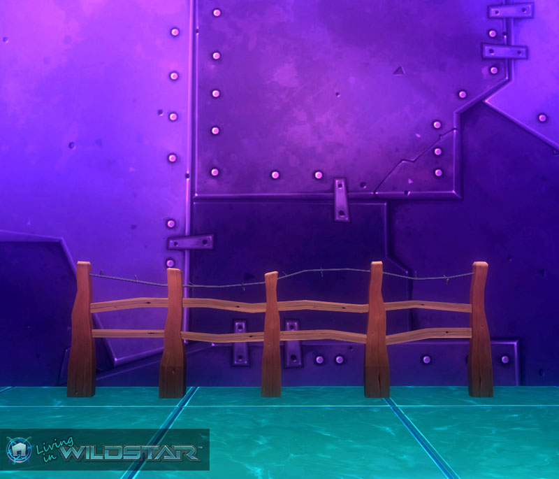 Wildstar Housing - Wooden Fence (Ranch)