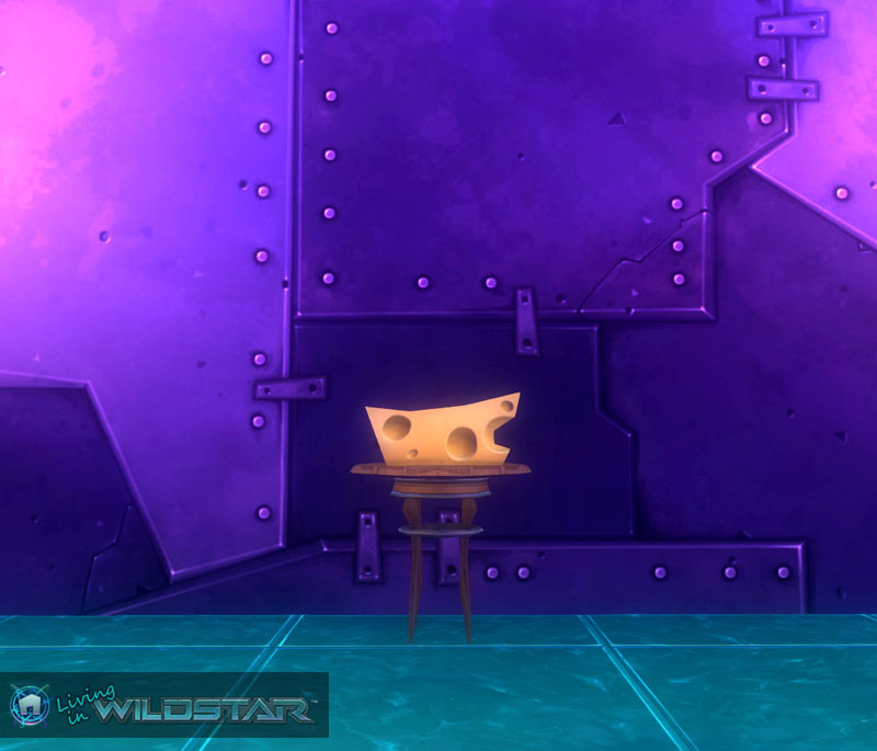 Wildstar Housing - Cheese Wedge (Blockless)