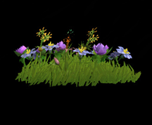 Wildstar Housing - Garden Flower Clump (Style 2)