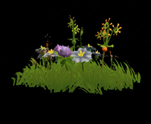 Wildstar Housing - Garden Flower Clump (Style 4)