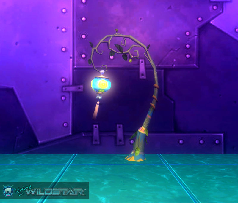 Wildstar Housing - Aurin Lamp Post (Lantern)