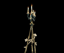 Wildstar Housing - Skull Candelabra (Draken)