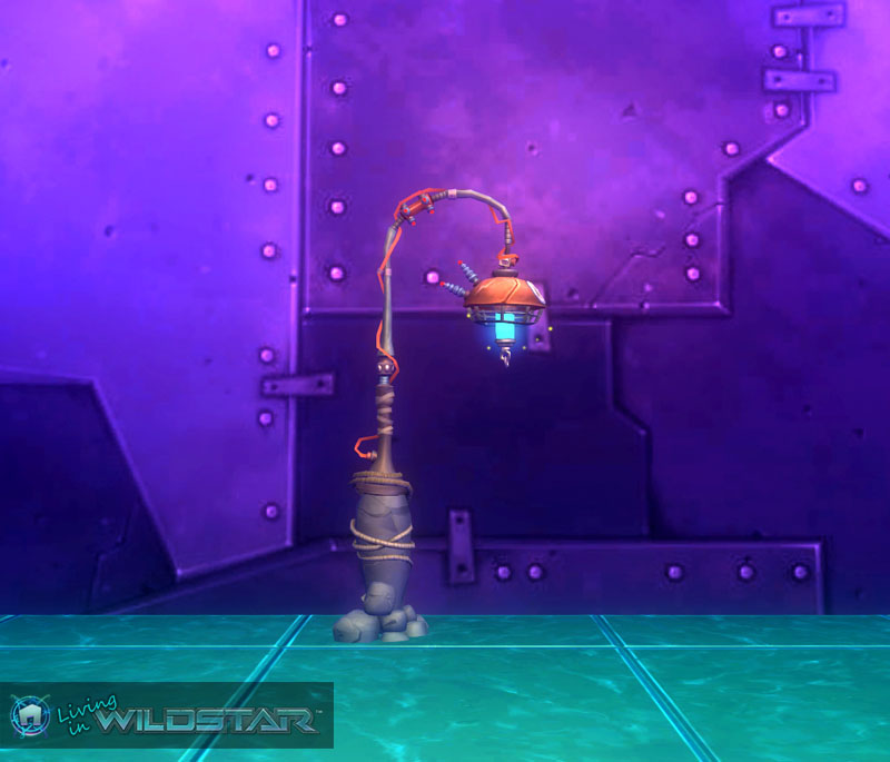 Wildstar Housing - Lamp Post (Makeshift)