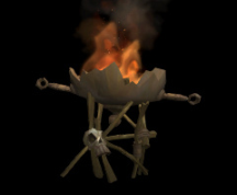 Wildstar Housing - Fire Pit (Metal)