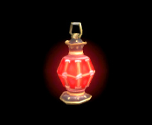 Wildstar Housing - Lantern (Red)