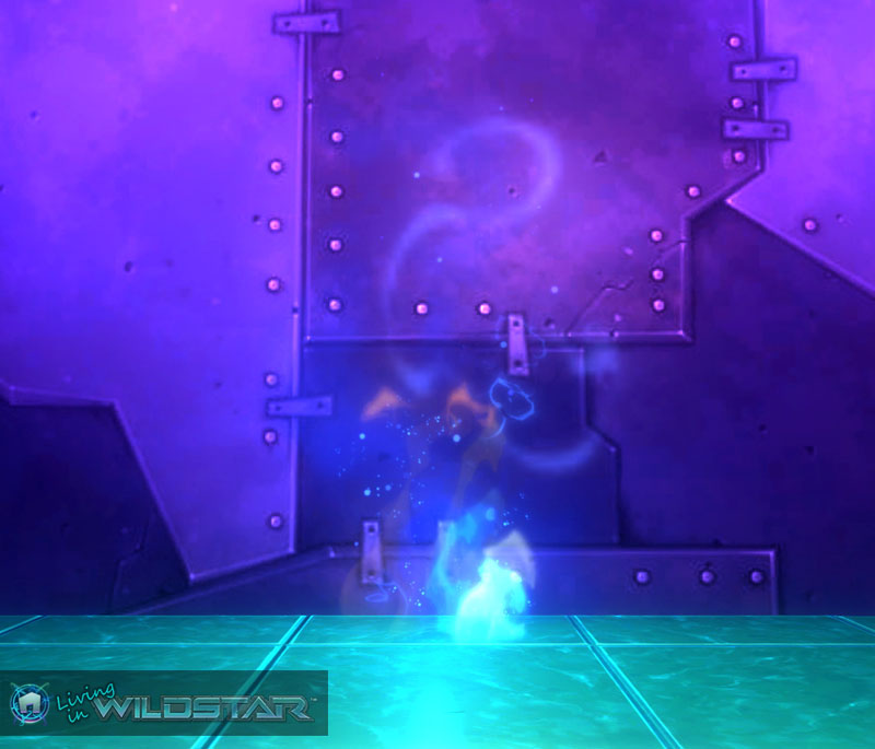 Wildstar Housing - Fire (Blue-Yellow)