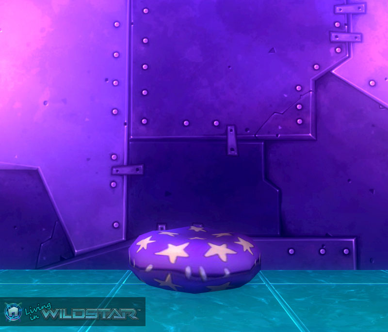 Wildstar Housing - Star Pillow