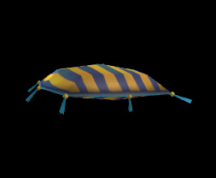 Wildstar Housing - Pillow (Striped)