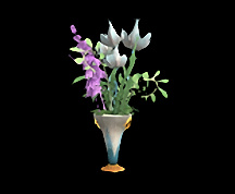 Wildstar Housing - Fancy Floral Arrangement Vase