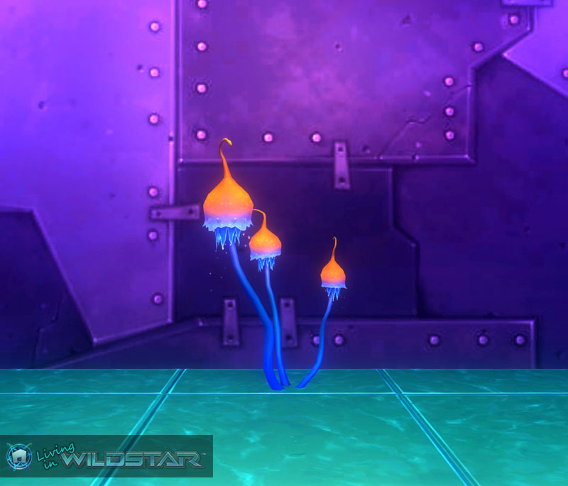 Wildstar Housing - Stardust Tulips