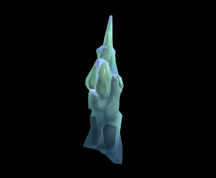 Wildstar Housing - Frozen Pillar (Large)