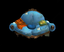Wildstar Housing - Decrepit Couch (Blue)