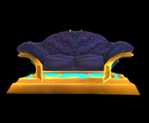 Wildstar Housing - Leather Sofa (Dominion)
