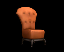 Wildstar Housing - Easy Chair (Orange)
