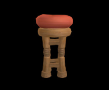 Wildstar Housing - Stool (Tiki)