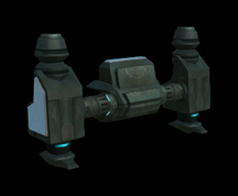 Wildstar Housing - Gunner Ship Landing Gear
