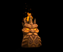 Wildstar Housing - Decorative Totem (Krag Studrock)