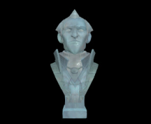 Wildstar Housing - Malvolio Bust