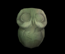 Wildstar Housing - Stone Hoogle Statue