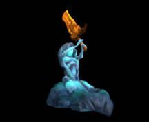 Wildstar Housing - Statue of Torine Battlemaiden