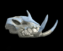 Wildstar Housing - Tuskbeast Skull