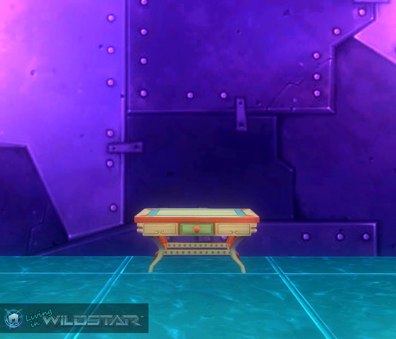 Wildstar Housing - Colorful Table (Aurin)