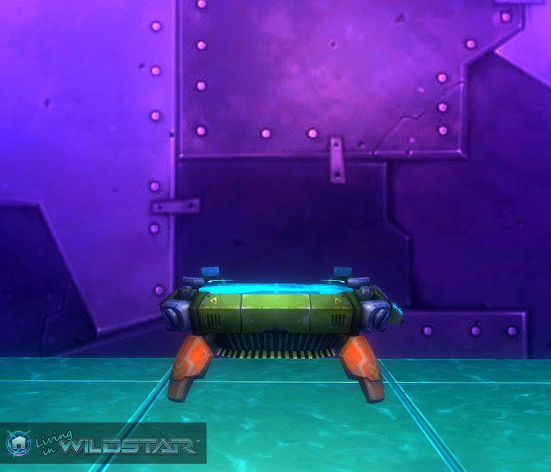Wildstar Housing - Tactical Table (Exile)