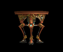 Wildstar Housing - Table (Exotic)