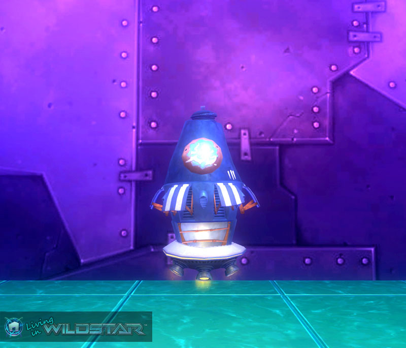 Wildstar Housing - Floating Shop (Protostar)
