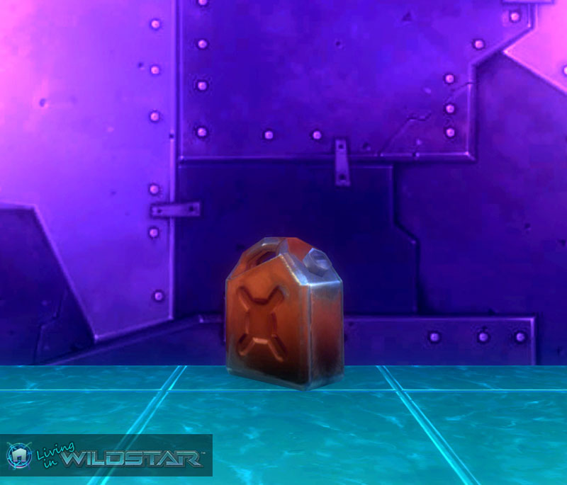 Wildstar Housing - Fuel Can