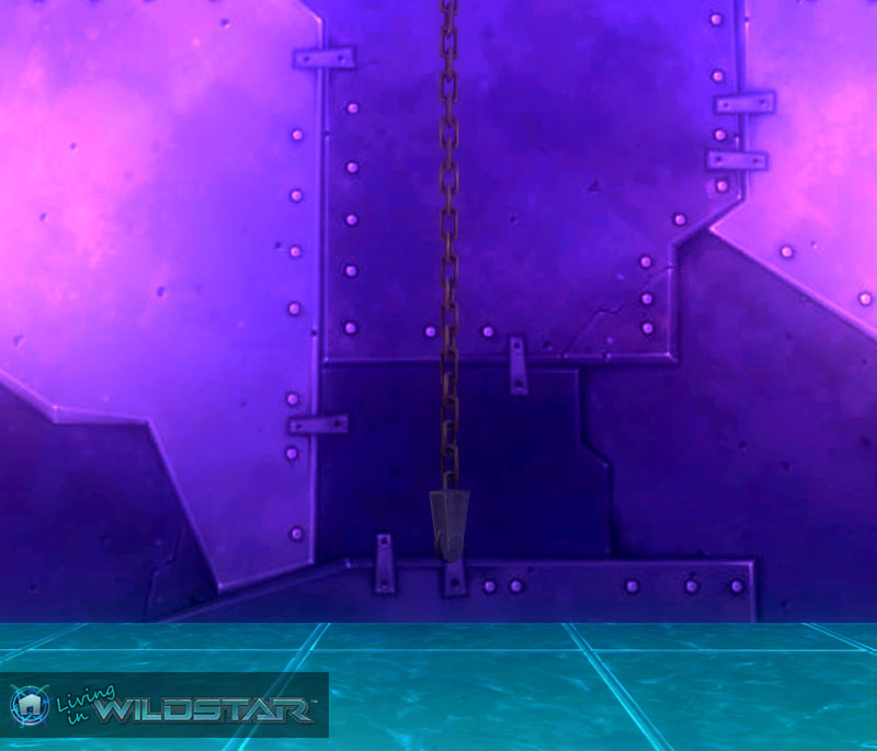 Wildstar Housing - Hanging Chain (Redmoon)
