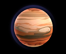 Wildstar Housing - Planet - Gas Giant