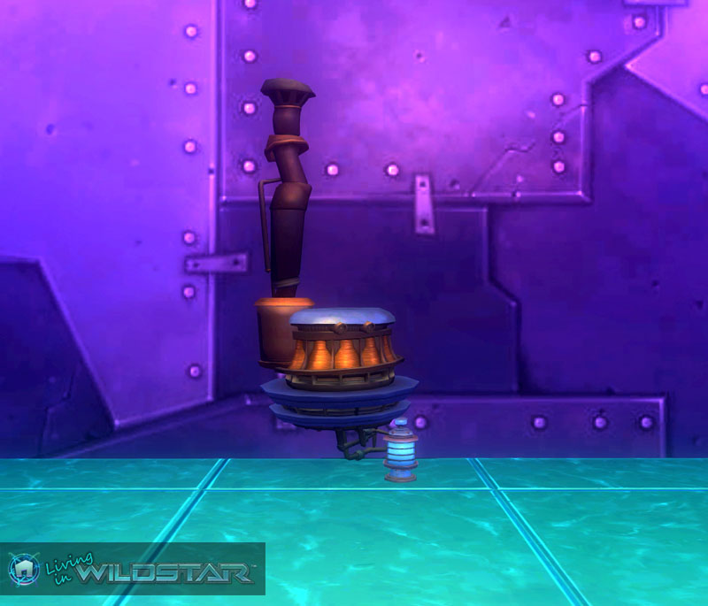 Wildstar Housing - Garage Engine (Protostar)