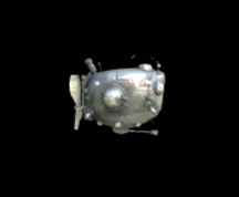 Wildstar Housing - Silver-Plated 'Warballoon' Model