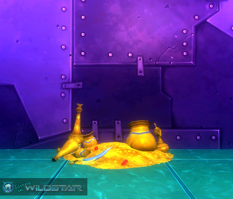 Wildstar Housing - Treasure Pile