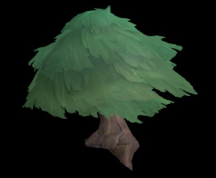 Wildstar Housing - Umbrella Pine (Large)