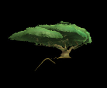 Wildstar Housing - Umbrella Tree (Massive)