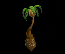Wildstar Housing - Palm Tree (Tropical)