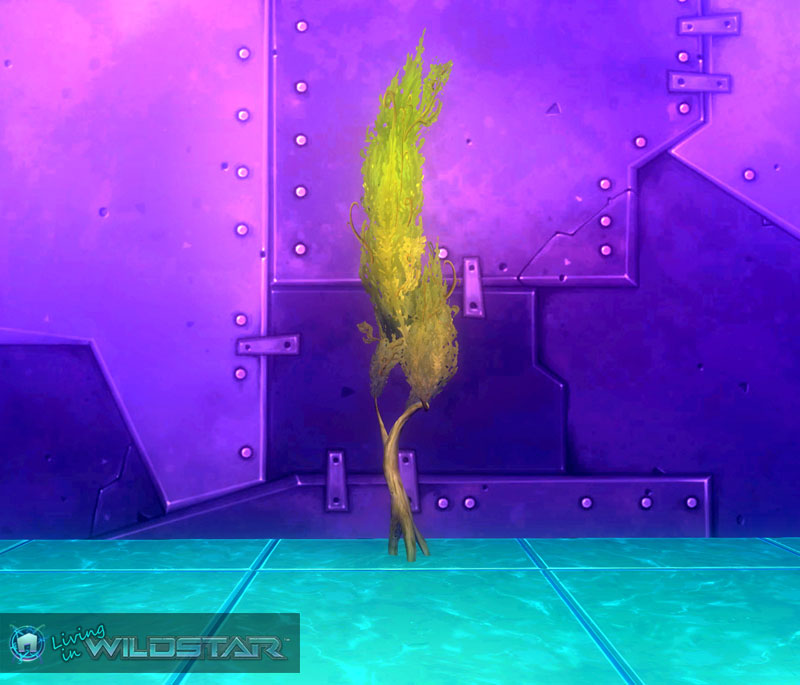 Wildstar Housing - Swirly Tree (Green)